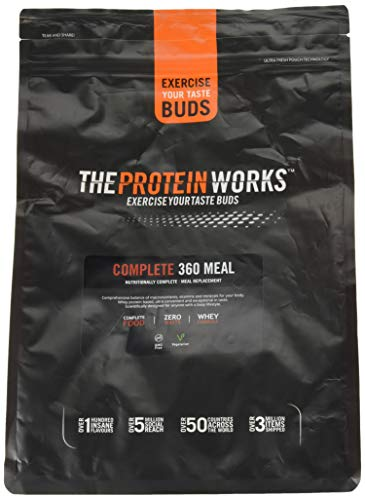 The Protein Works Complete 360 Meal Nutritionally Balanced Quick & Affordable Strawberries 'n' Cream Classic, 2 kg