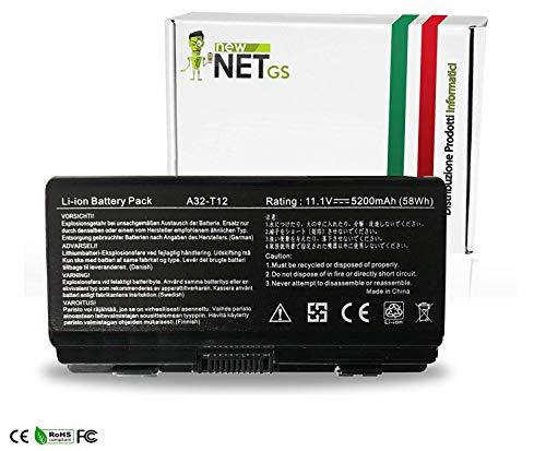 BATTERIA NEWNET PER ASUS 10.8 - 11.1 V 5200 mah