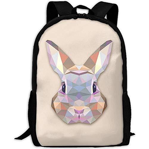 G.H.Y Test Aztec Rabbit Adult Reiserucksack Schule Casual Daypack Oxford Outdoor Laptop Tasche College