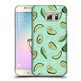 Official Andrea Lauren Design Avocado Food Pattern Hard Back Case Compatible for Samsung Galaxy S7 Edge