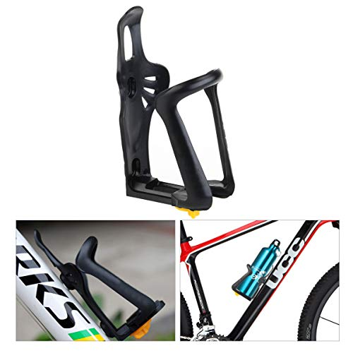 Leorx - portaborraccia per bicicletta, universale, regolabile, in plastica