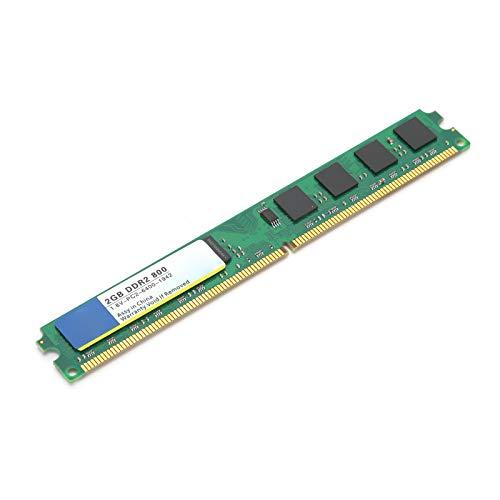 Memoria de computadora de Escritorio, DDR2 2GB 800Mhz PC2‑6400, Mayor Capacidad de Memoria, Resistencia a la corrosión y abrasión
