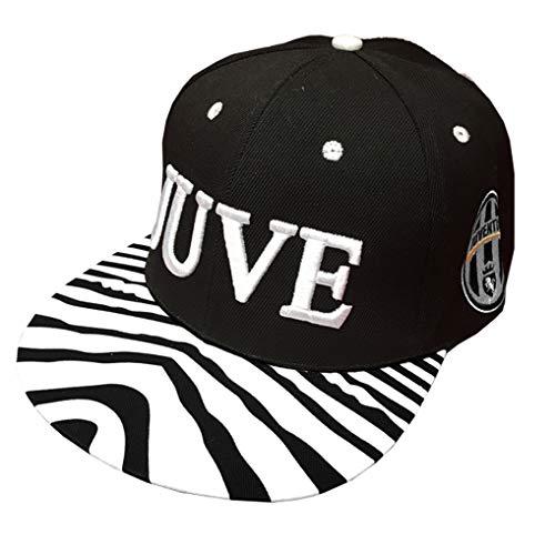 cappello juventus bambino Cappello Juventus Cappellino Ufficiale Berretto Cotone Rap Juve RAPJUVZEB