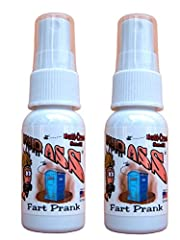 Liquid Ass is made in the USA and never ships from China Highly concentrated, super horrible smelling fart spray Smells like ASS only worse 2 bottles 30 milliliter (1 fluid ounce) each. More than enough for many room evacuating emissions Excellent fo...