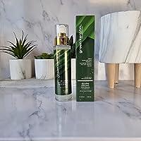 Green Keratin ELMW Acide Hyaluronique Sérum Visage - Soin Visage à l'Acide Hyaluronique (Faible Poids Moléculaire) BIO...