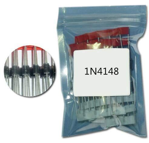 100PCS 1N4148 Diode do-35 IN4148 Hochgeschwindigkeits-Schaltdioden
