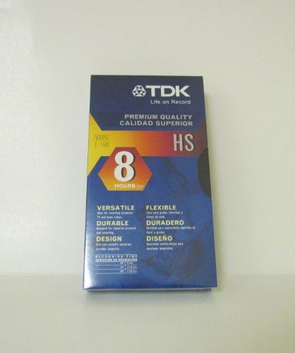Why Should You Buy TDK T-160 VHS 8-Hours Videocassette -10 Pack (T-160)