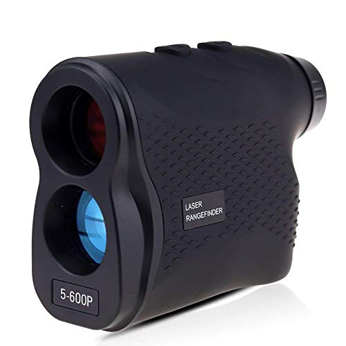 Golf Rangefinder Hunting Telescoop Laser Afstandsmeter Golf Digital Monocular Range Finder Hoek Meetapparatuur,Black