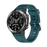 LATEC Smartwatch, Reloj Inteligente con 1.3' Pantalla Táctil Completa, Pulsera Actividad Inteligente Hombre Mujer 5ATM Impermeable Reloj Deportivo con Cronómetro Pulsómetro para Android y iOS (Verde)