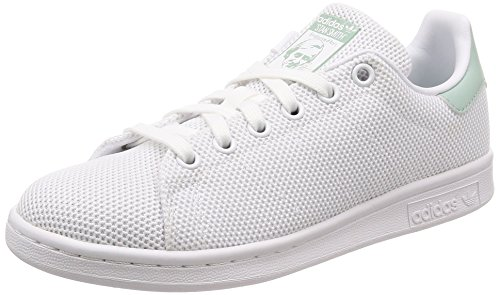 adidas Stan Smith W, Scarpe da Fitness Donna, Bianco (Ftwbla/Ftwbla/Vercen 000), 36 EU