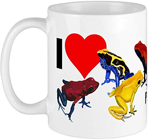 Poison Dart Frog Bumper Sticker Mug Unique Coffee Mug, Coffee Cup