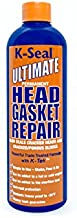 K-SEAL Ultimate Permanent Head Gasket Repair ST3501 16oz Multi-Purpose Formula Stop Leaks in the Head Gasket, Cracked/Porous Blocks, Radiator & Heater Core. A True Pour & Go, Trade Trusted Stop Leak