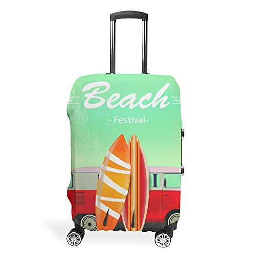 Funda protectora para maleta de verano y playa, resistente al polvo