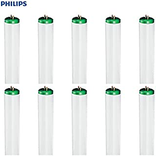 Philips Daylight Deluxe Linear Fluorescent T12 Light Bulb: 4-Foot, 2325-Lumen, 6500-Kelvin, 40-Watt, Bright White, Bi-Pin Base, 10-Pack