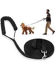 LITSPOT Honden Trainingslijn, Hond Leash Lange hondenriemen Trainingslijn voor kamperen Tracking Training Spelen Camping of Achtertuin