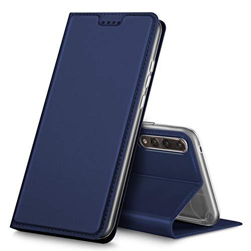 Verco Huawei P20 PRO Cover, Custodia a Libro Pelle PU per Huawei P20 PRO Case Booklet Protettiva [Magnetica Integrata], Azzurro