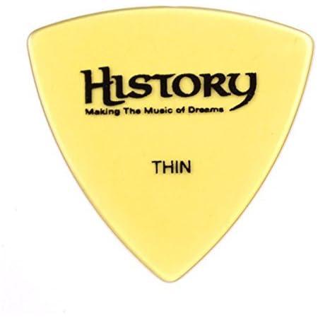 HISTORY HP1T THIN ピック 30枚セット おにぎり(トライアングル)型 (ヒストリー)
