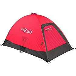 RAB Latok Mountain 2 Tent: 2-Person 4-Season (Pimento FIRE Retardant)