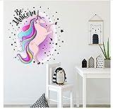 Etiqueta engomada linda de la pared del flamenco 3D, papel pintado de la etiqueta engomada del animal de la decoración del hogar de las habitaciones de los niños, etiqueta engomada de la pared de la decoración de la habitación de las muchachas 60X90Cm