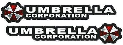 Couple of Umbrella Corporation Resident Evil Car Sticker Decal NETANT (1 : 1)