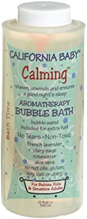 California Baby Bubble Bath - Calming,  13 oz (Pack of 2)