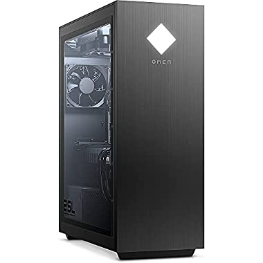 OMEN 25L Gaming Desktop PC, Intel Core i7-10700F, NVIDIA GeForce GTX 1660 Super, HyperX 16 GB DDR4 RAM, 512 GB PCIe NVMe…
