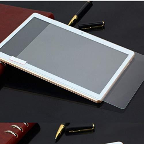 Formulauff Pellicola Protettiva Universale per Schermo in Vetro Temperato Trasparente, Completa Adatta per Tablet da 10,1 Pollici, Trasparente