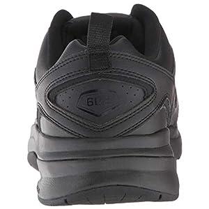 New Balance mens 608 V5 Casual Comfort Cross Trainer, Black/Black, 10.5 US