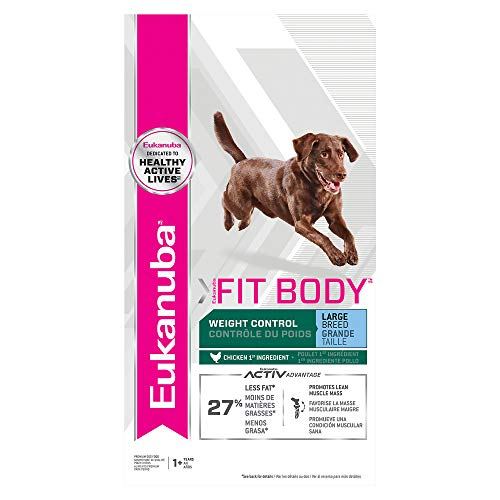Eukanuba Fit Body Weight Control Large Breed Dry Dog Food, 30-Pound