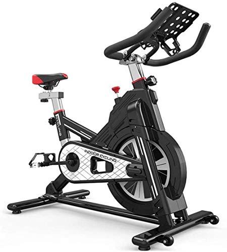 DSHUJC Bicicletas de Ejercicio Inteligentes Gimnasio en casa Bicicleta de Spinning de Interior Equipo de Deportes de Interior Profesional Todo Incluido Juego de Fitness Ultra silencioso A