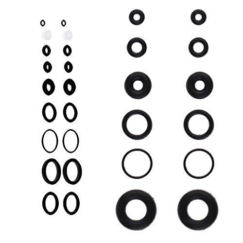 40 Stücke Airbrush Interner Ring Gummi O Ring Dichtungsring Waschmaschine