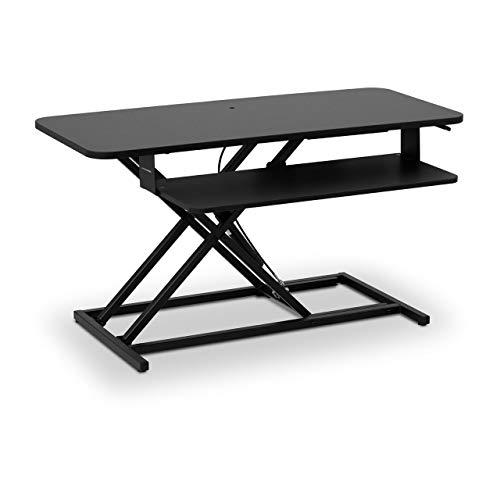 Fromm & Starck Star_SSD_12 Schreibtischaufsatz Sitz-Steh-Schreibtisch-Aufsatz Monitorerhöhung höhenverstellbar 115-500 mm