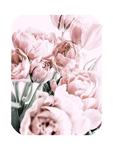 Goods-Store-uk - Poster con Fiori nordici a Forma di Tulipano, Decorazione da Parete per Soggiorno, Bianco, 20x25cm No Frame