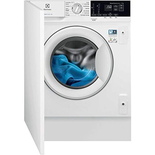 Lave linge encastrable Electrolux EW7F1474BI - Lave linge Frontal encastrable - Intégrable - capacité : 7 Kg - Vitesse d'essorage maxi 1400 tr/min - Classe A+++