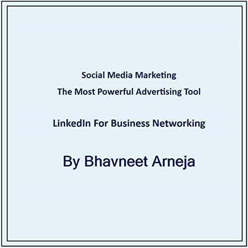 LinkedIn for Business Networking audiobook cover art
