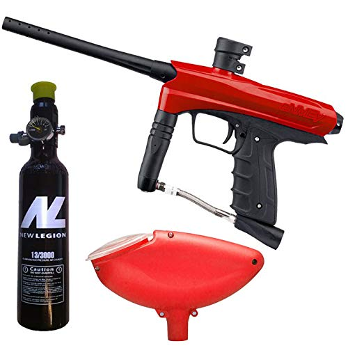 Smart Parts Kids Paintball Markierer Cal.50 inkl. Loader und 0,2 Liter HP System - Red Dragon