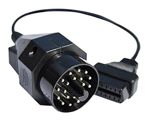 obdexpert.de OBD2 - OBD1 - Adapter für BMW-Fahrzeuge (1996-2000) als Zusatz zum MaxDia Diag1 oder MaxDia Diag2+ zur Diagnose (Fehlerspeicher lesen und löschen) und Codierung NEU&OVP !!!