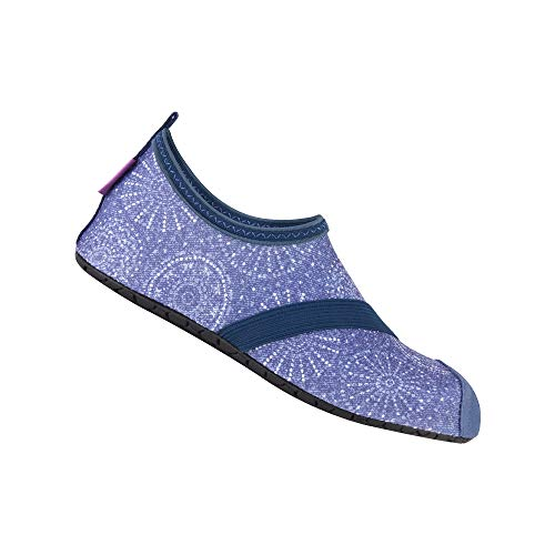 FitKicks Special Edition Women's Foldable Active Lifestyle Minimalist Footwear Barefoot Yoga Water Shoes