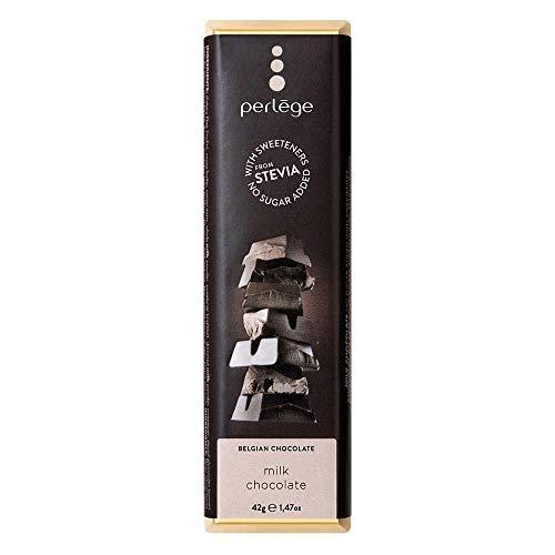 perlege(ペルレージュ) ステビア ミルクチョコ 42g×15個セット