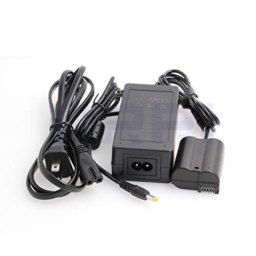 DRRI Eh-5 Plus EP-5B - Cargador Adaptador de Corriente CA para Nikon D500 D600 D610 D750 D7000 D7100 D800 D800E D810 D800A D850, EP-5B Adapter, Enchufe de EE. UU.