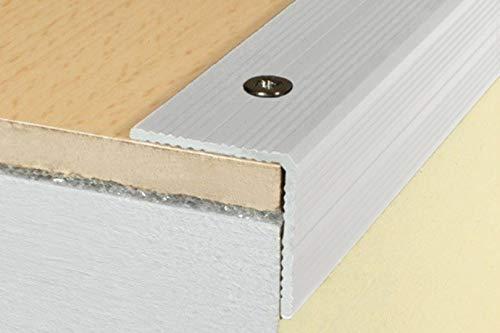Preisvergleich Produktbild 1 Stück / Winkelprofil / Alu / rostfrei / Effector / 1800x25x25mm / A40 / silber