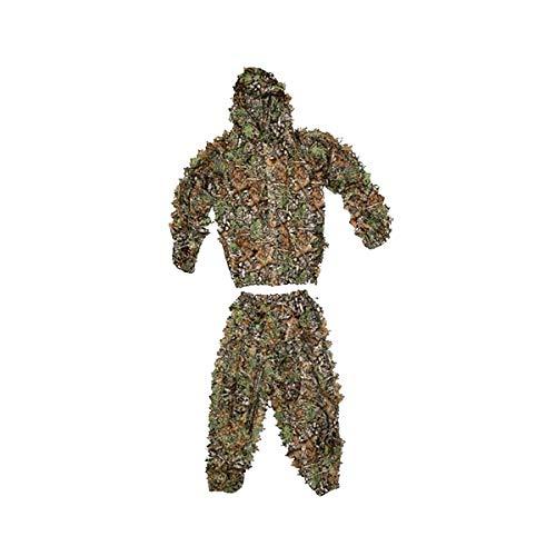 Tenue de Camouflage Imitation Feuilles mortes 1 Veste et 1 Pantalon