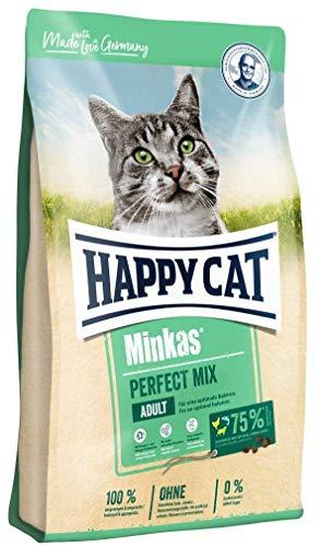 Happy Cat Minkas Perfect Mix Geflügel, Fisch & Lamm, 4 kg