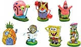 SpongeBob SquarePants® 2' Aquarium Ornaments, 7-Piece Set