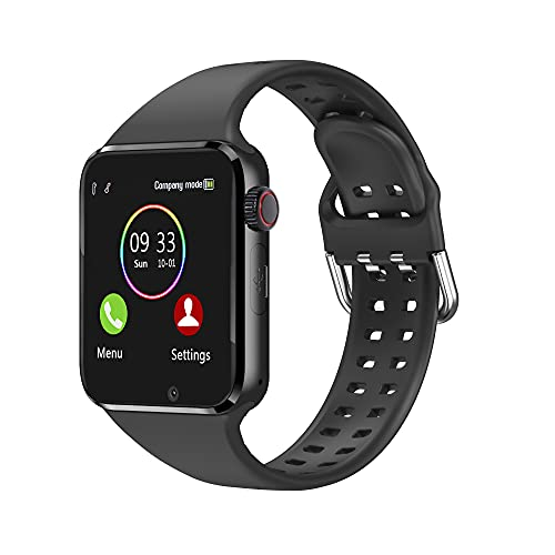 Smart Watch - Aeifond Bluetooth Smartwatch Touch Screen Wrist Watch Sports Fitness Tracker with Camera SIM SD Card Slot Pedometer Compatible iPhone iOS Samsung LG Android for Men Women Kids (Black)