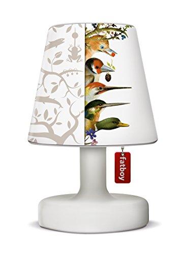 Fatboy Edison The Petit Tischlampe mit Fatboy Lampenschirm Cooper Cappie LTD. Taupe Tjilp Delight - perfekte Akku LED Leuchte für den In- und Outdoor Bereich