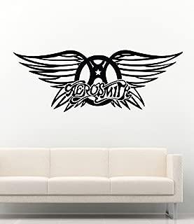 Rock Wall Decals Aerosmith Logo Decor Stickers Vinyl MK0790