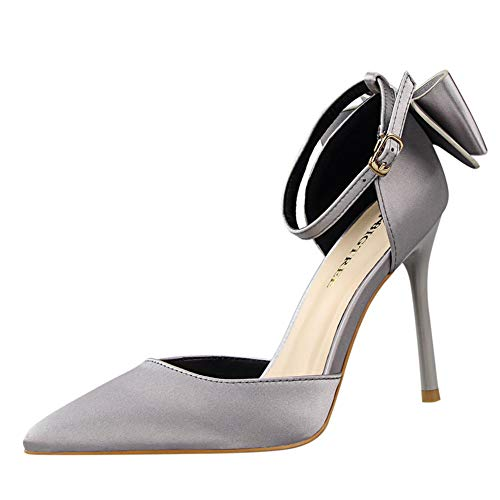 Mujer Moda Zapatos De Tacón de Aguja Puntiagudo Punta Cerrada Diseño Elegante...