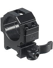 UTG Rq2W3104 Collares de Montaje para la Óptica, Unisex Adulto, Negro, Talla Única