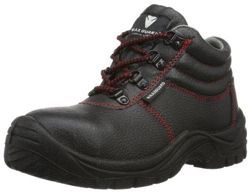 Maxguard ADAM 900116 Unisex-Erwachsene Sicherheitsschuhe, 900116, Schwarz (schwarz), Gr. 45